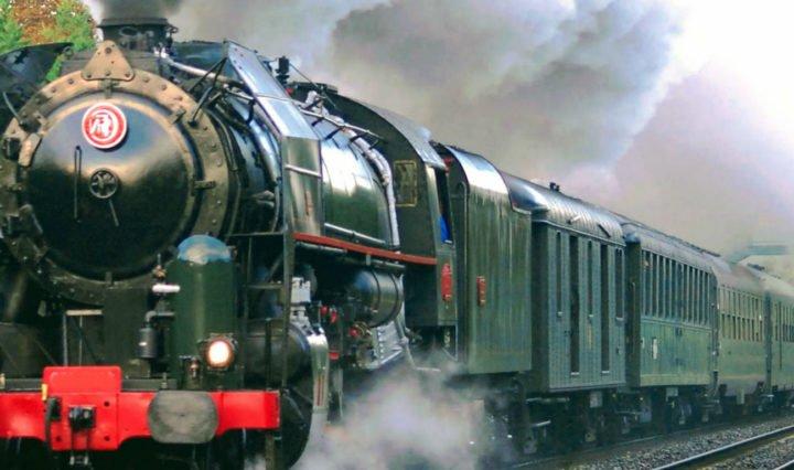 Train vapeur vallée du Rhône