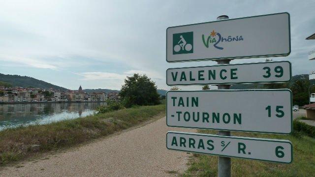 La ViaRhona, veloroute et voie verte