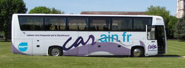 cars bus Ain