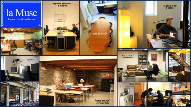 la muse geneve coworking