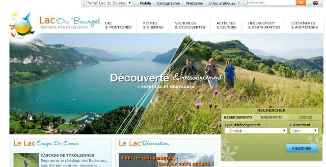 lac du bourget tourisme