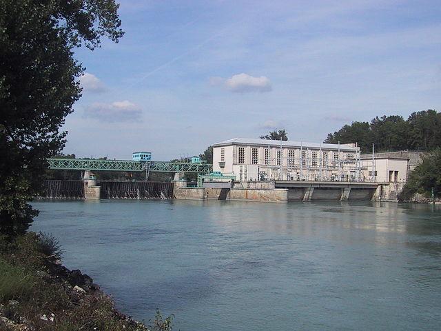 Barrage de Seyssel, Compagnie Nationale du Rhône