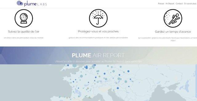 Plumelabs, météo de la pollution