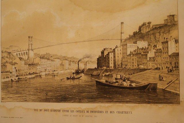 Projet de pont à Lyon