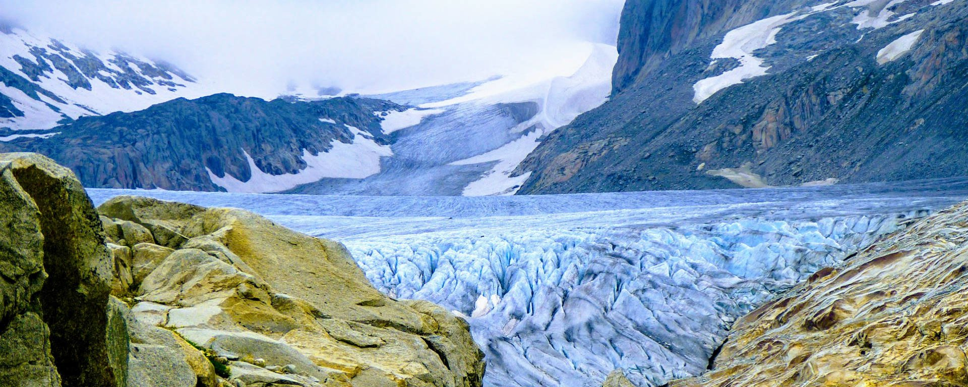 Glacier des sources du Rhône