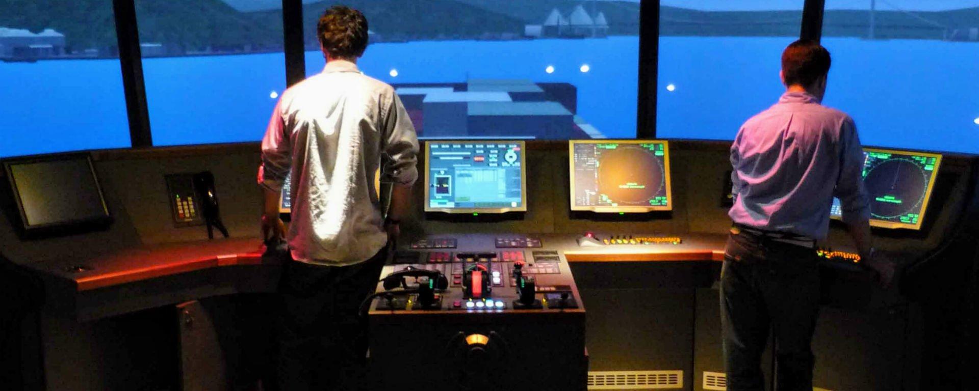Simulateur pilotage fleuve rhone CNR