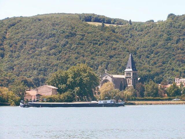Vienne fleuve Rhone