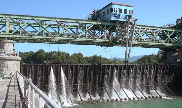 barrage CNR fleuve rhone