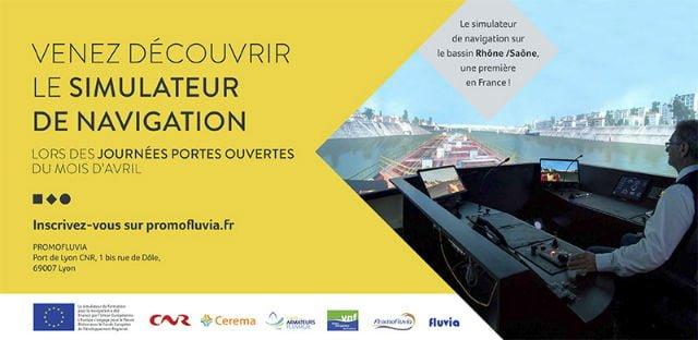 invitation simulateur de navigation promofluvia