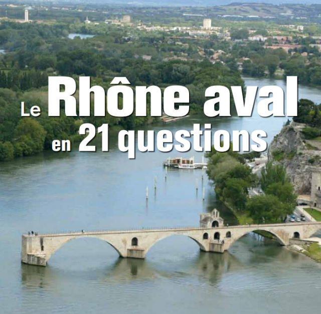 Le Rhone aval en 21 questions