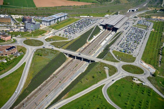 Coworking à Rovaltain : Parc d'activité TGV [Photo La Drôme]