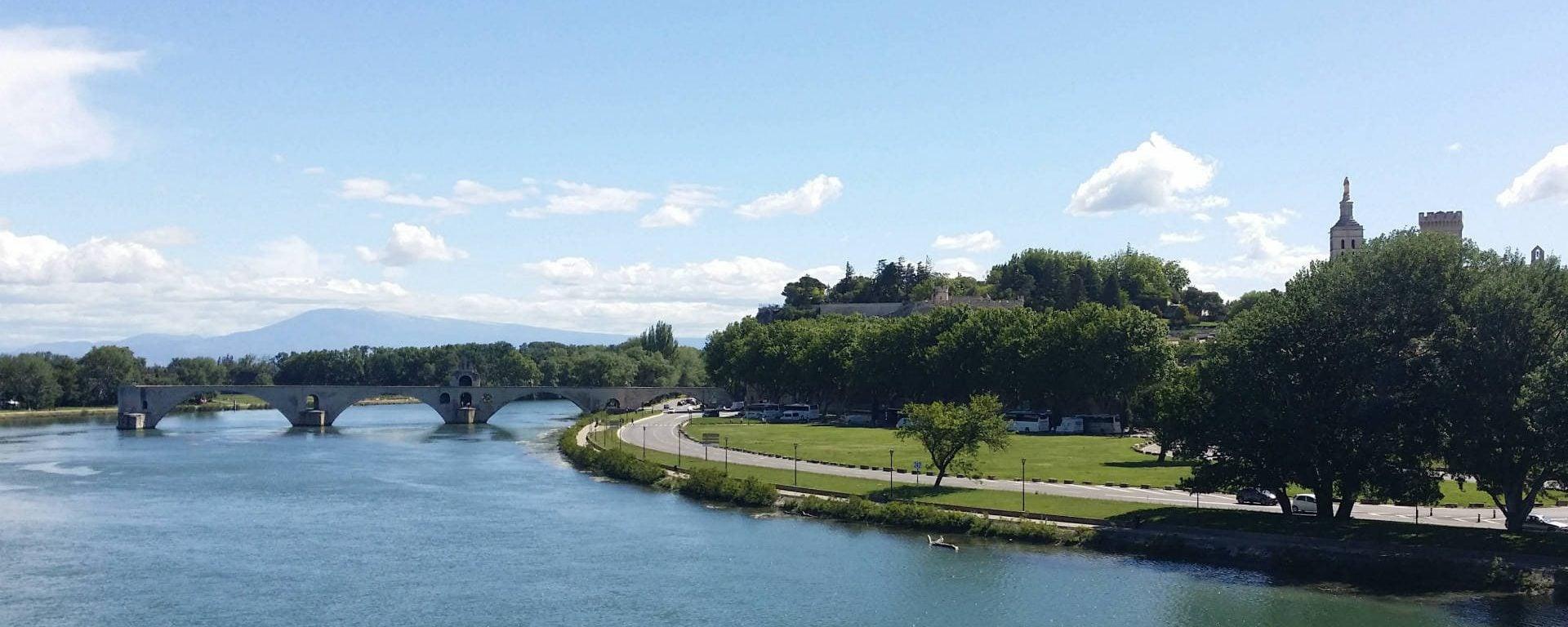 Fleuve Rhône sud