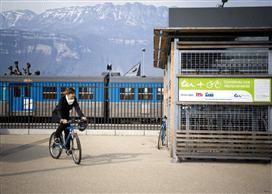 Consignes train + vélo en gare