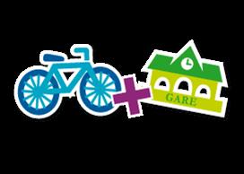 Train plus vélo en TER : gare et consigne