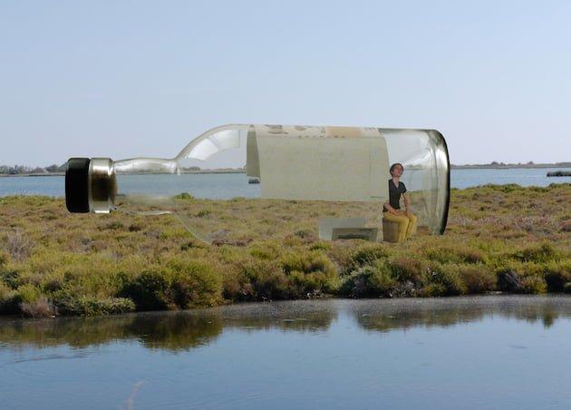 Abraham-Poincheval en Bouteille [Photo Mangroves © Courtesy-Galerie-Semiose]