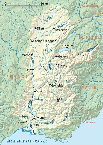 Bassin de la vallée du Rhône