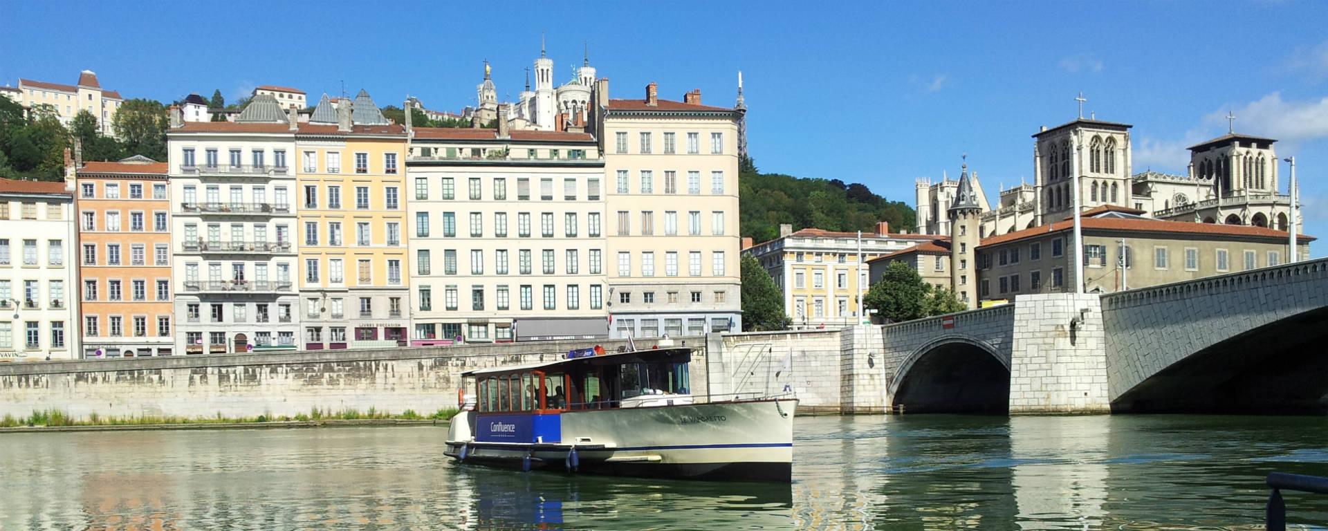 Vaporetto, navette fluviale Lyon