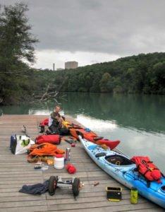 De Genève à la Méditérannée en kayak : Départ