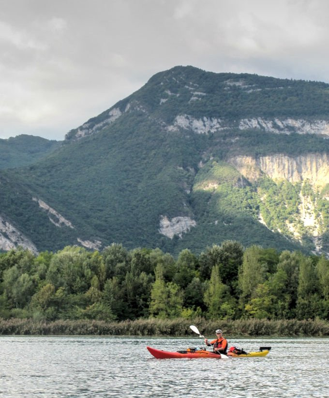 De Genève à la Méditerranée en kayak : Haut-Rhône