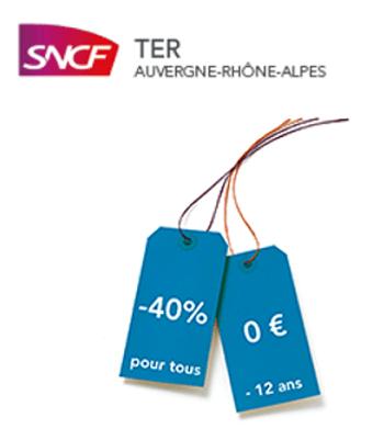 Réduction SNCF TER : illico promo