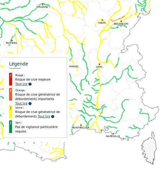 bassin du Rhône et affluents