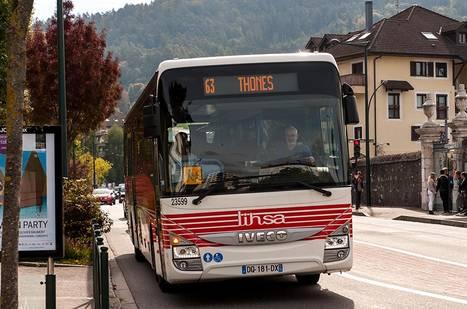 Bus et cars départementaux : Transports en vallée du Rhône