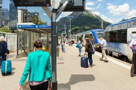 Trains, TER, TGV : Transports en vallée du Rhône