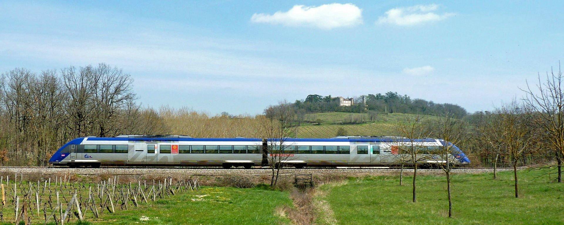 Trains en vallée du Rhône