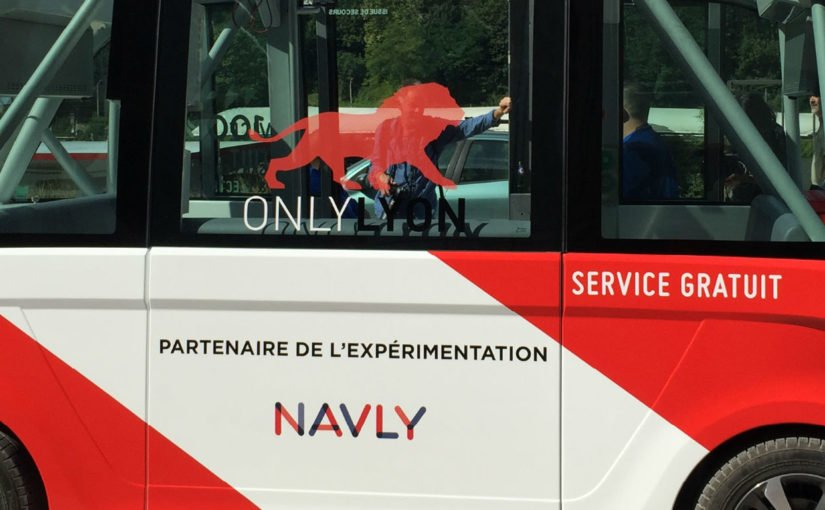 Navly, navette autonome Lyon