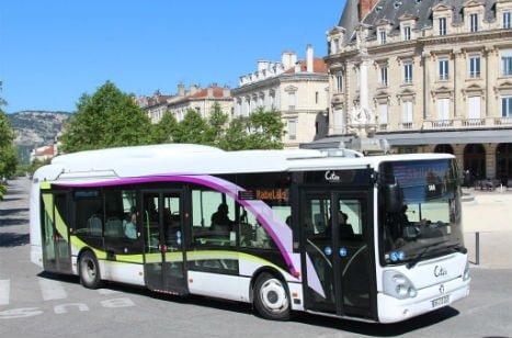 Bus dans la Drôme : transports urbains