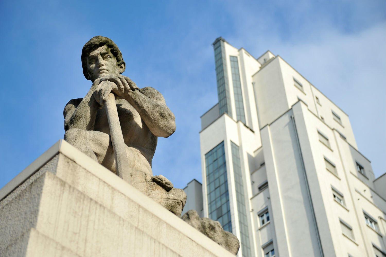 Statut, quartier Gratte-Ciel Villeurbanne