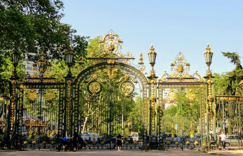 Entrée du parc de la tête d'or, Lyon