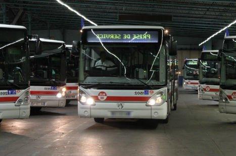 metro bus tramway