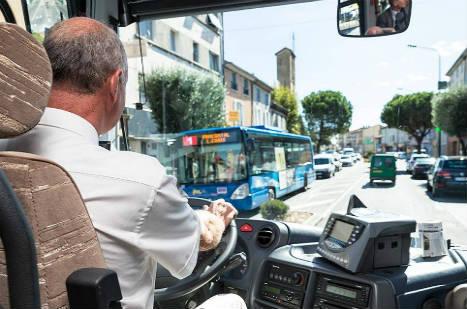 Bus dans la Drôme