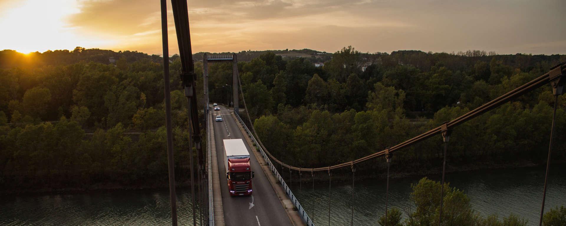 Transports, vallée du Rhône