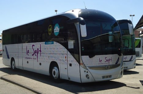 Bus ligne 20 en Ardèche / Le Sept