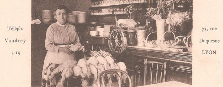 cuisine lyonnaise, les mères