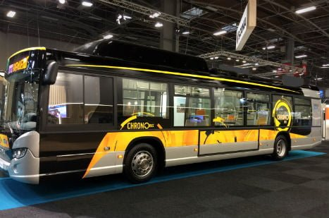 Bus de ville en Isère