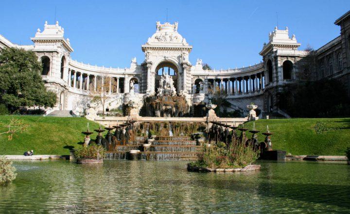 Palais de longchamp, canal de Marseille