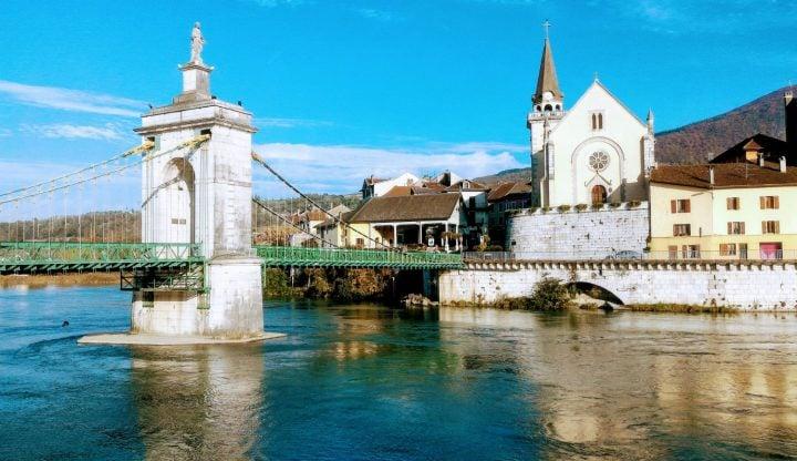 Seyssel, Ain Haute-Savoie, vallée du Rhône