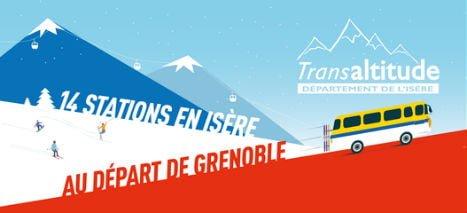 Transaltitude, cars et bus vers les stations au départ de Grenoble