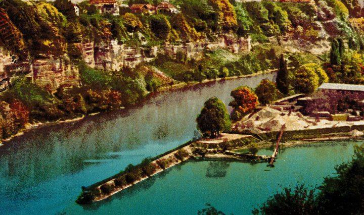 Histoire du fleuve Rhône
