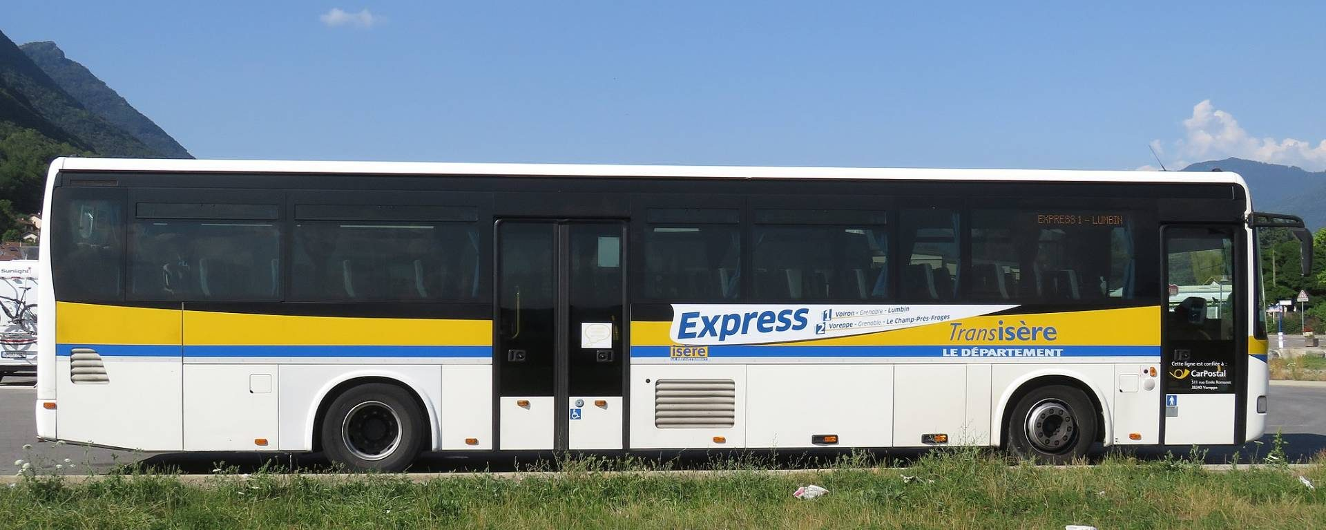 Bus et cars en Isère