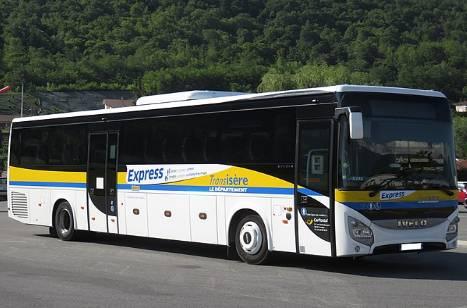 Cars et bus en Isère